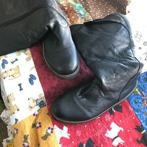 NWOT Earth Kenn High Leather Boots Lady 9.5 B